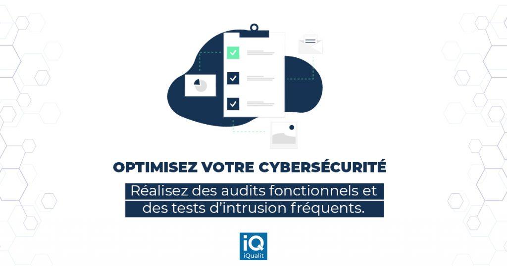 Conseil pour réaliser des audits fonctionnels et des tests d'intrusion
